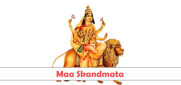 Maa Skandmata - Fifth Form of Nava Durgas