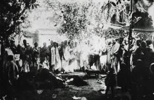 Cerimônia de samadhi de Srila Bhaktivinoda Thakura