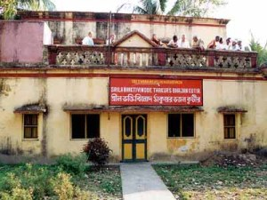 Seu Bhajana kutira - Svananda Sukhada Kunja, em Godrumadvipa