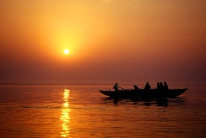 O explêndido Ganges em Navadvipa