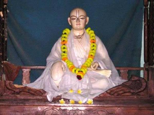 Samadhi de Vrindavana Dasa Thakura, Mamgachi