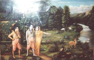 Sita Rama, e Laksmana