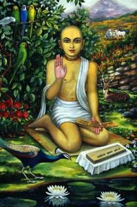 Srila Jiva Gosvami, siksa guru de Narottama Dasa