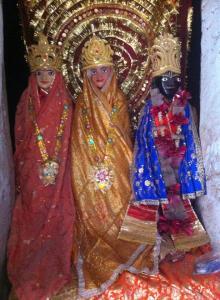 Deidades de Jatila, Kutila e Abhimanyu