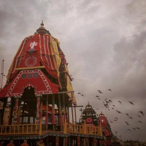 Ratha Yatra 2016 em Jagannatha Puri dhama