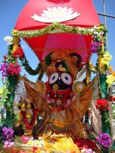 Senhor Jagannatha, Ratha Yatra no Brasil, julho de 2012