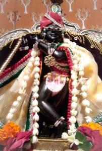 Deidade de Radha-Ramana manifestada para Sri Gopala Bhatta.