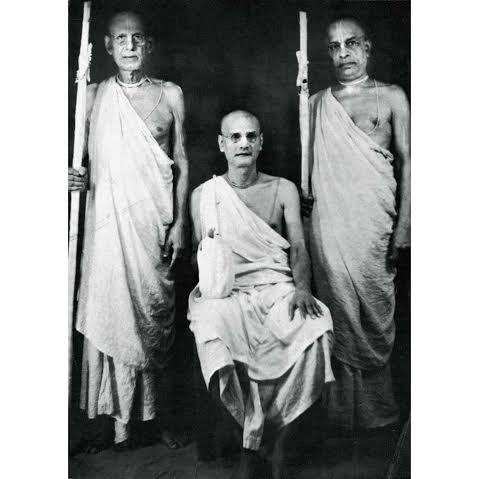 Cerimônia de Sannyasa de Srila Bhaktivedanta Swami Prabhupada