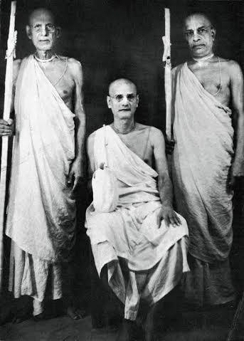 Cerimônia de Sannyasa de Srila Bhaktivedanta Swami Prabhupada.