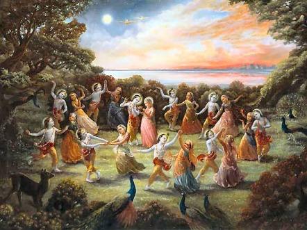 Sri Krsna deixou a dança da rasa nesse dia, neste mês. Assim, sentindo intensa separação Dele, as gopis cantaram o Gopi-gita. Neste mês, elas também cantaram o Venu-gita.