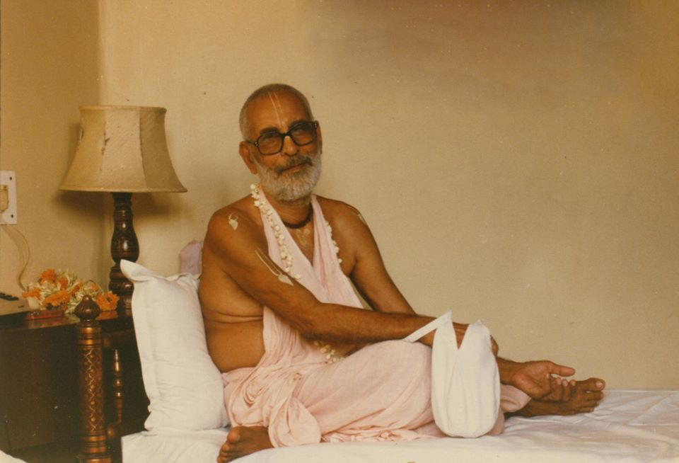 Srila Gurudeva Bhaktivedanta Narayana Gosvami Maharaja