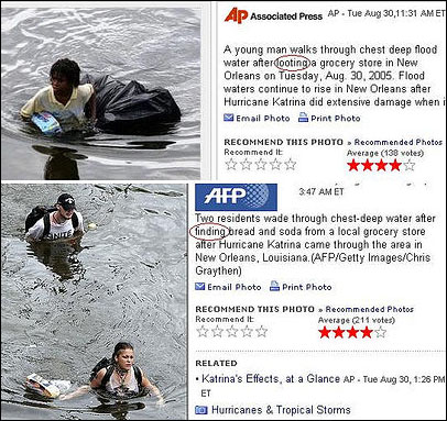 Racism in the news: Hurricane Katrina