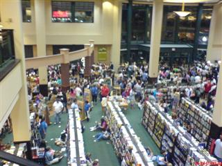 Barnes and Noble: Midnight Half Blood Prince Launch