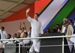 Rahul Gandhi in Patna Gandhi Maidan Bihar Rally on February 3, 2019