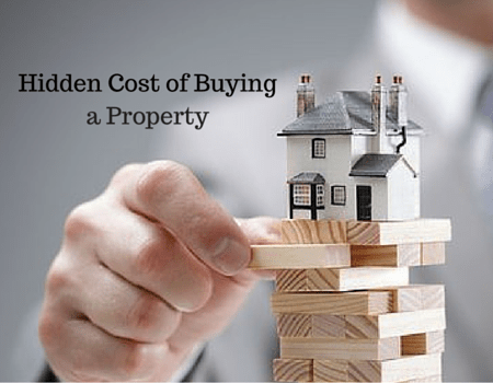 hiden cost of buying a property