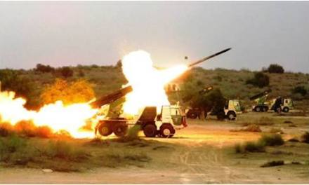 #IndianArmy Displayed its Operational Prowess ExSHATRUJEET in Deserts of Rajasthan