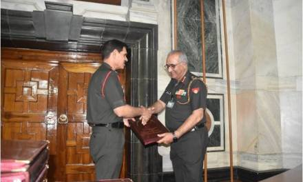 General Dalbir Singh, #COAS thanked Officers for Their Service to the Sation
