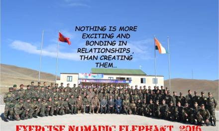 11th Indo-Mongolia Joint Training ‪#ExNomadicElephant‬2016