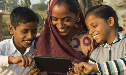 Approximately 950 million Indians don't have Internet connection