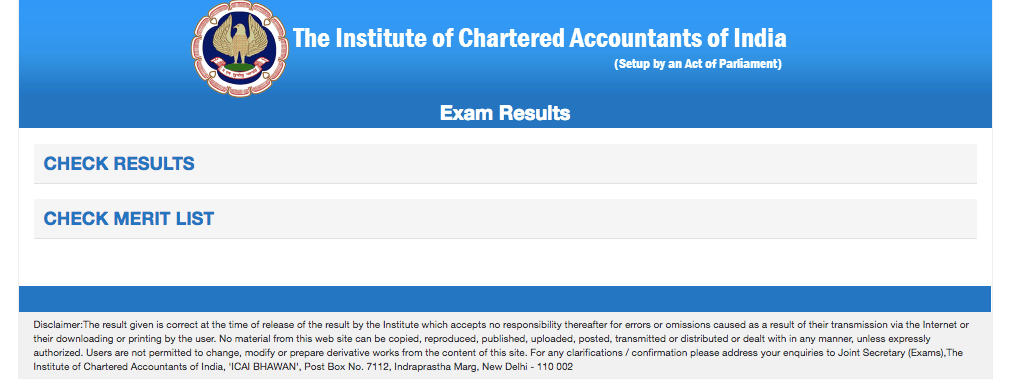 ICAI Result 2018: CA Final, Foundation, CPT Results To Be Declared Today i.e. 23rd January, 2019