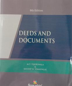 SWP's Deeds and Documents by M.T. Tijoriwala, Sandip N. Vimadala - 8th Reprint Edition 2021