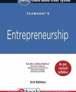 Taxmann's Entrepreneurship by Abha Mathur for CBCS - 3rd Edition March 2021