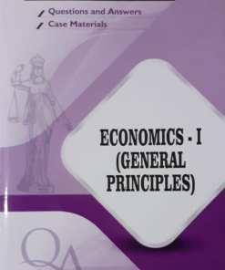 GLA's Question & Answers on Economics-I by Dr. Rega Surya Rao 1st Edition 2019