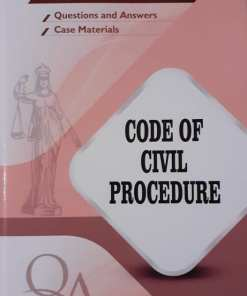 GLA's Question & Answers on Code of Civil Procedure by Dr. Rega Surya Rao 1st Edition 2019
