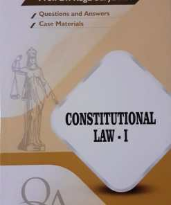 GLA's Question & Answers on Constitutional law-I by Dr. Rega Surya Rao 1st Edition 2019