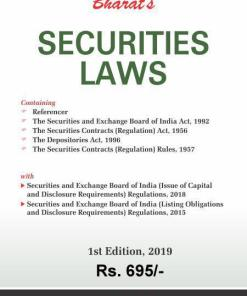 Bharat's Securities Laws - 1st Edition September 2019