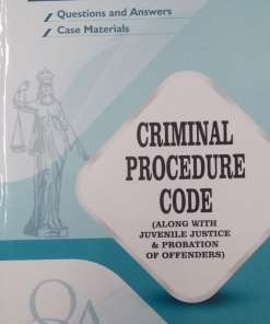 GLA's Question & Answers on Code of Criminal Procedure by Dr. Rega Surya Rao 1st Edition 2019
