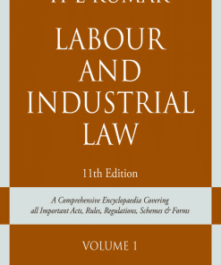 Lexis Nexis Labour and Industrial Law (Set of 2 Vols.) by H L Kumar 11th Edition 2020