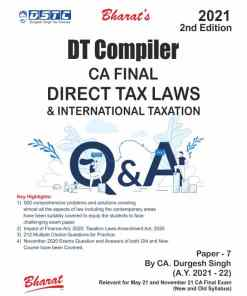 Bharat's DT Compiler by CA Durgesh Singh for May 2021