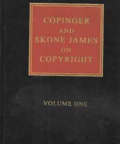 Sweet & Maxwell's Copinger and Skone James on Copyright - South Asian Edition 2019