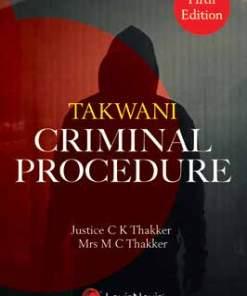Lexis Nexis's Criminal Procedure by Takwani - 5th edition 2021