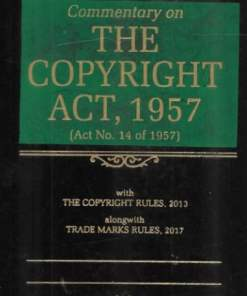 DLH's Commentary on The Copyright Act, 1957 by Lal - 7th Edition 2021