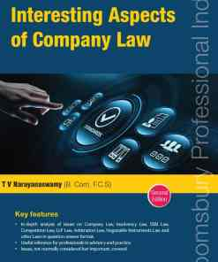 Bloomsbury's Issues on Interesting Aspects of Company Law by T V Narayanaswamy - 2nd Edition January 2021
