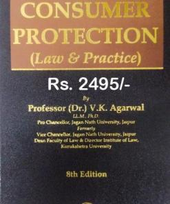 Bharat's Consumer Protection (Law & Practice) by Dr. V.K. Agarwal - 8th Edition 2021