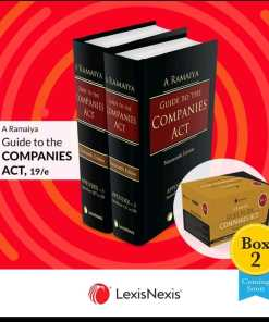 Lexis Nexis's Guide to the Companies Act (Box 2) by A Ramaiya - 19th Edition 2021