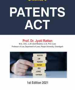 Bharat's Patents Act by Dr. Jyoti Rattan - 1st Edition 2021