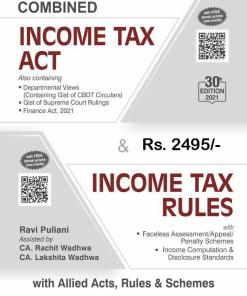 Bharat's Combined Income Tax Act & Income Tax Rules - 30th Edition 2021