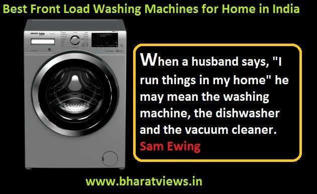 Top 10 Best Front Load Washing Machines in India