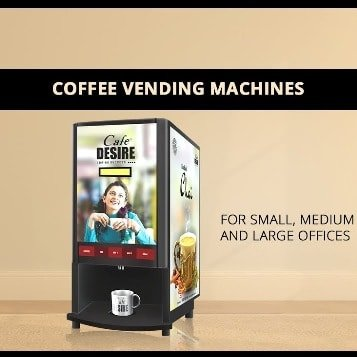 Best tea coffee vending machine for office and commercial use.
