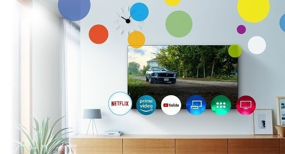 Panasonic smart homescreen