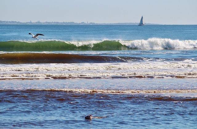gelombang laut, ombak
