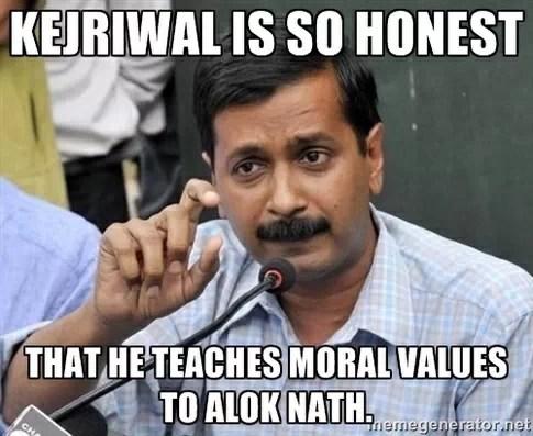 Arvind Kejriwal and Alok Nath Jokes