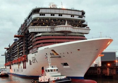 Giant Ship with engine Problem