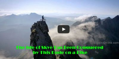 The Isle of Skye Has Been Conquered by This Dude on a Bike