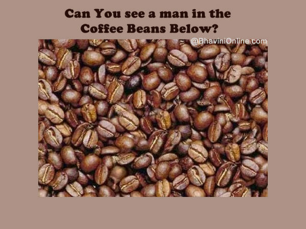 the man in the coffee beans answer