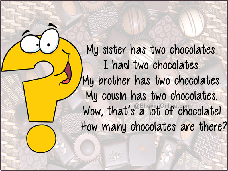 Riddles for Kids: How Many Chocolates Are There